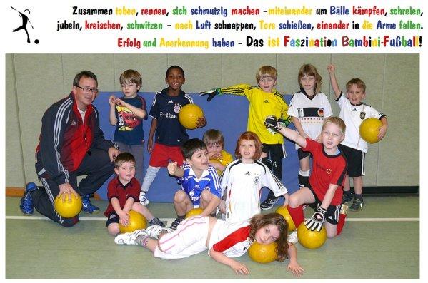 Faszination Bambini-Fußball